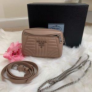 Prada Impunture Cipria 2 Belt Bag